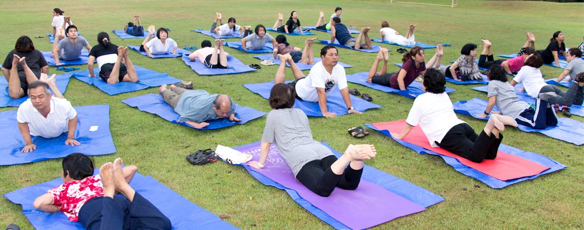 โครงการส่งเสริมสุขภาพบุคลากร สร้างจิตสดใส ร่างกายแข็งแรง